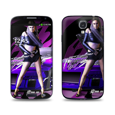 Samsung Galaxy S4 Skin - Z33 Purple