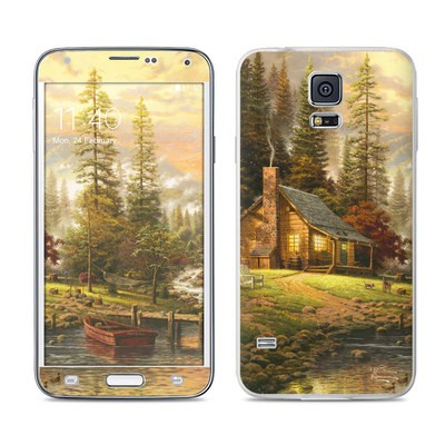 Samsung Galaxy S5 Skin - A Peaceful Retreat