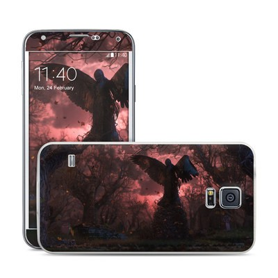 Samsung Galaxy S5 Skin - Black Angel