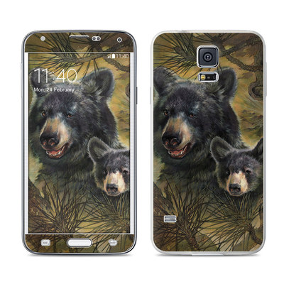 Samsung Galaxy S5 Skin - Black Bears