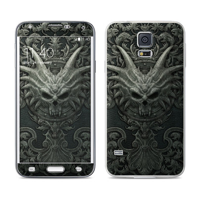 Samsung Galaxy S5 Skin - Black Book