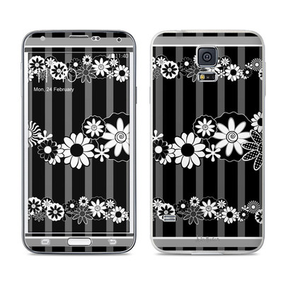 Samsung Galaxy S5 Skin - Black Retro