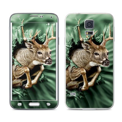 Samsung Galaxy S5 Skin - Break Through Deer