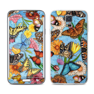 Samsung Galaxy S5 Skin - Butterfly Land