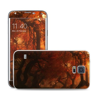 Samsung Galaxy S5 Skin - Canopy Creek Autumn
