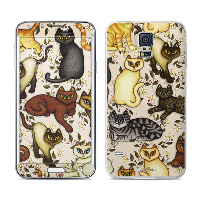 Samsung Galaxy S5 Skin - Cats