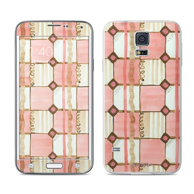 Samsung Galaxy S5 Skin - Chic Check