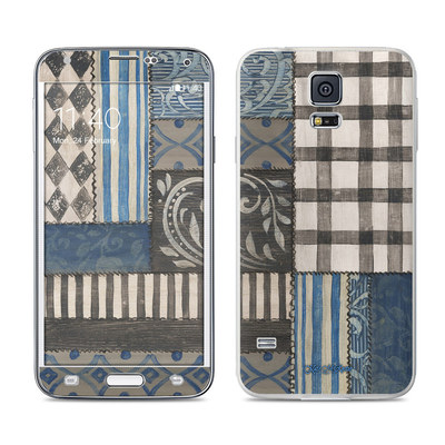 Samsung Galaxy S5 Skin - Country Chic Blue