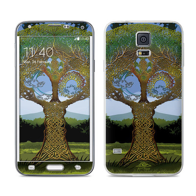 Samsung Galaxy S5 Skin - Celtic Tree