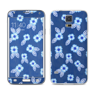 Samsung Galaxy S5 Skin - China Blue
