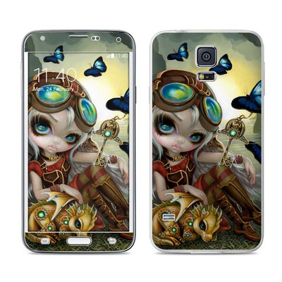 Samsung Galaxy S5 Skin - Clockwork Dragonling