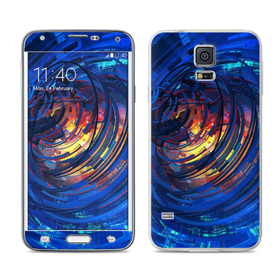 Samsung Galaxy S5 Skin - Clockwork