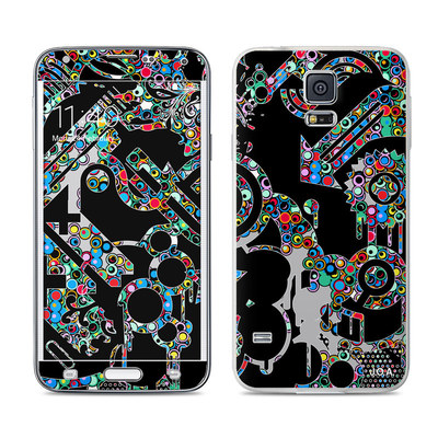 Samsung Galaxy S5 Skin - Circle Madness