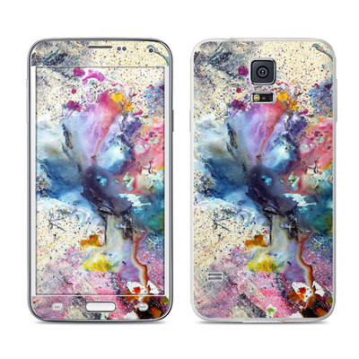 Samsung Galaxy S5 Skin - Cosmic Flower