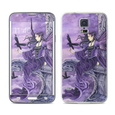 Samsung Galaxy S5 Skin - Dark Wings