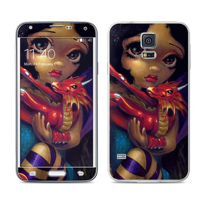 Samsung Galaxy S5 Skin - Darling Dragonling