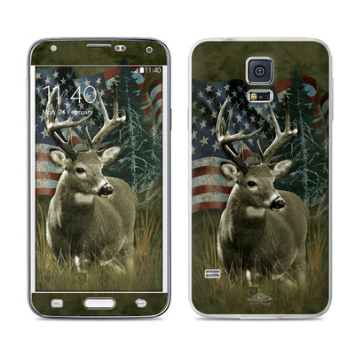 Samsung Galaxy S5 Skin - Deer Flag