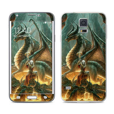 Samsung Galaxy S5 Skin - Dragon Mage