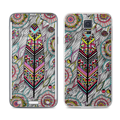 Samsung Galaxy S5 Skin - Dream Feather