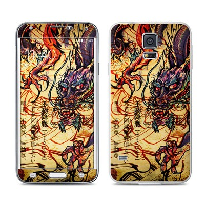 Samsung Galaxy S5 Skin - Dragon Legend