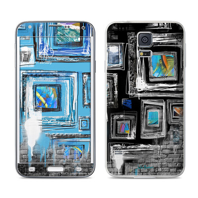Samsung Galaxy S5 Skin - Dripping Walls