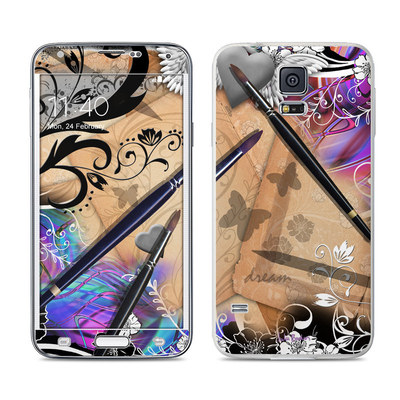 Samsung Galaxy S5 Skin - Dream Flowers