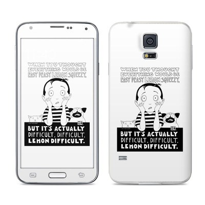 Samsung Galaxy S5 Skin - Easy Peasy