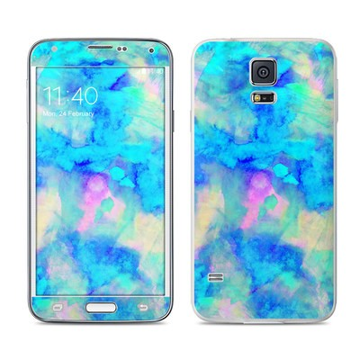 Samsung Galaxy S5 Skin - Electrify Ice Blue