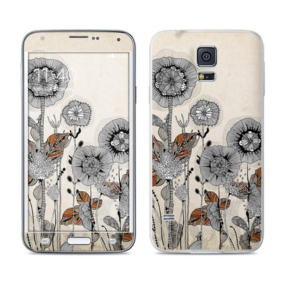 Samsung Galaxy S5 Skin - Four Flowers