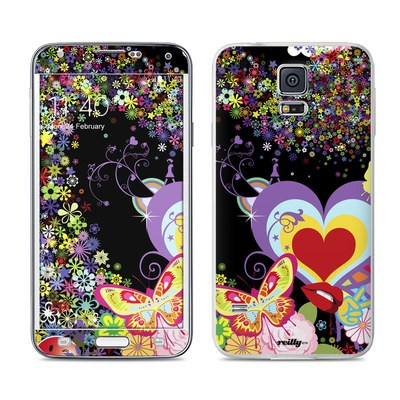 Samsung Galaxy S5 Skin - Flower Cloud