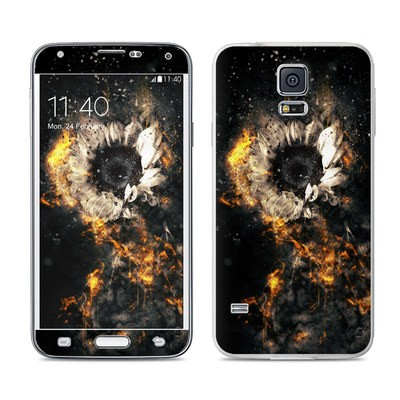 Samsung Galaxy S5 Skin - Flower Fury