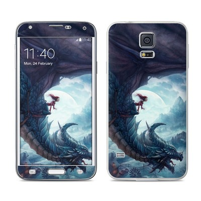 Samsung Galaxy S5 Skin - Flying Dragon