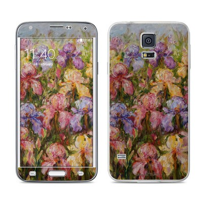 Samsung Galaxy S5 Skin - Field Of Irises