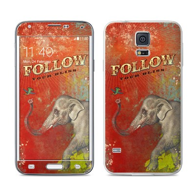 Samsung Galaxy S5 Skin - Follow Your Bliss