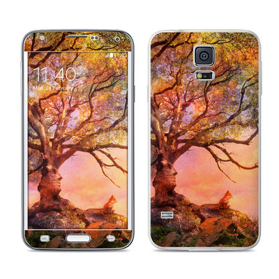 Samsung Galaxy S5 Skin - Fox Sunset
