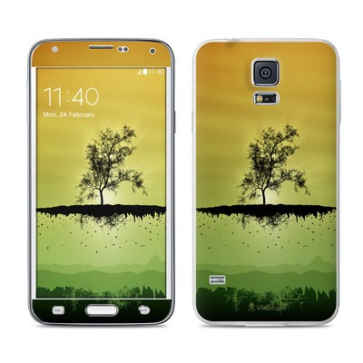 Samsung Galaxy S5 Skin - Flying Tree Amber