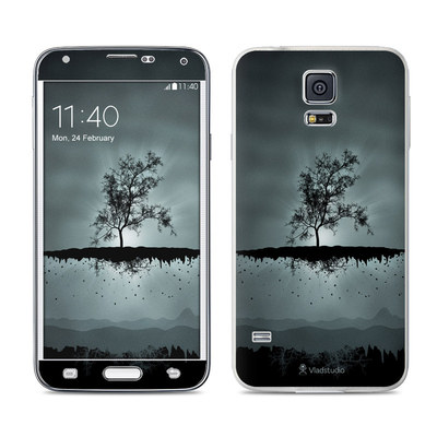 Samsung Galaxy S5 Skin - Flying Tree Black