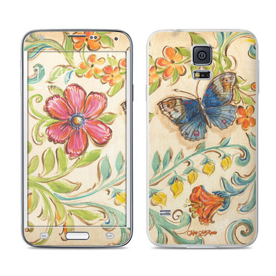 Samsung Galaxy S5 Skin - Garden Scroll