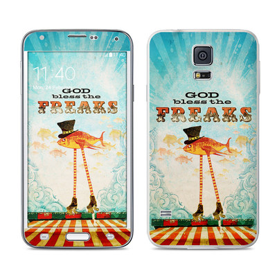 Samsung Galaxy S5 Skin - God Bless The Freaks