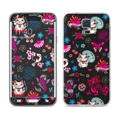 Samsung Galaxy S5 Skin - Geisha Kitty