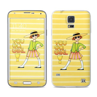 Samsung Galaxy S5 Skin - You Go Girl