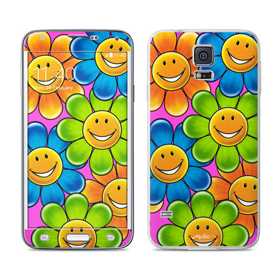 Samsung Galaxy S5 Skin - Happy Daisies