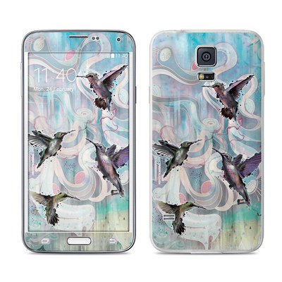 Samsung Galaxy S5 Skin - Hummingbirds