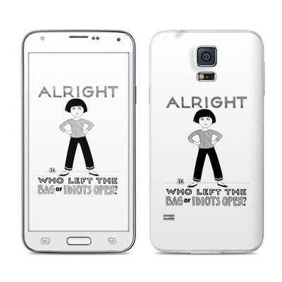 Samsung Galaxy S5 Skin - Bag of Idiots
