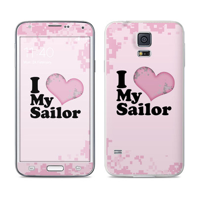 Samsung Galaxy S5 Skin - I Love My Sailor