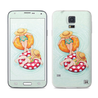 Samsung Galaxy S5 Skin - Inner Tube Girls