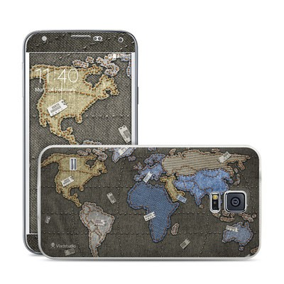 Samsung Galaxy S5 Skin - Jean Map