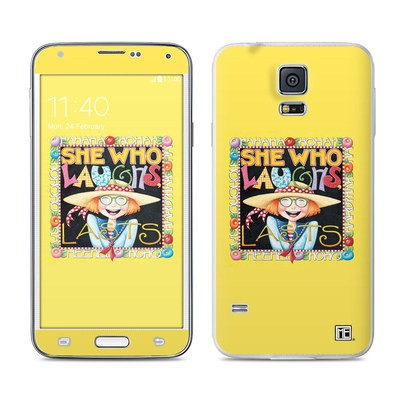 Samsung Galaxy S5 Skin - She Who Laughs