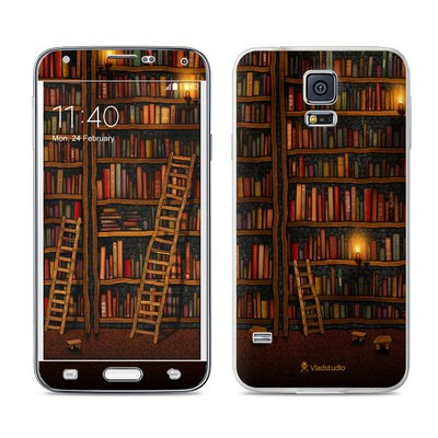 Samsung Galaxy S5 Skin - Library