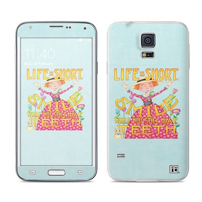 Samsung Galaxy S5 Skin - Life is Short